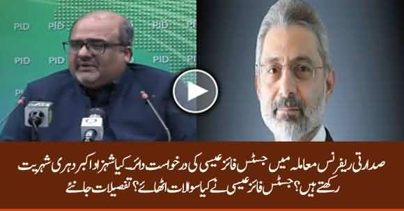 Does Shahzad Akbar Have Dual Citizenship? Justice Qazi Faiz Esa Raised Serious Questions About Shehzad Akbar